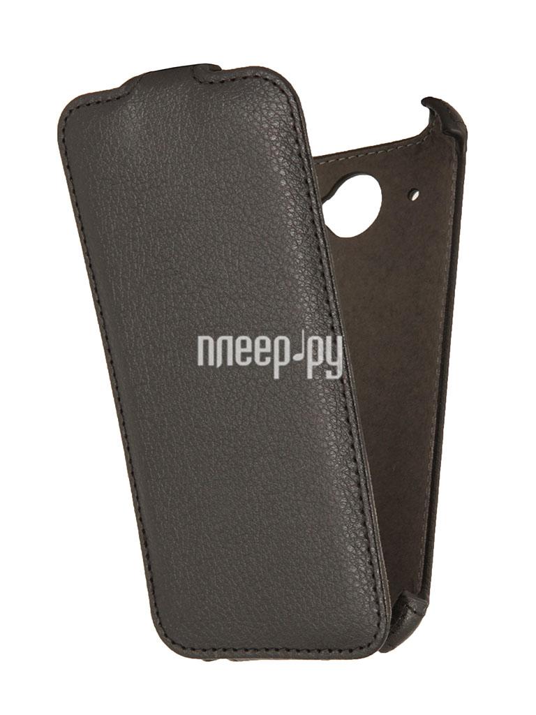 Аксессуар Чехол HTC Desire 601 / 601 Dual Sim EcoStyle Flip Sheel Black ESH-F-HTC601-BL  Pleer.ru  1100.000