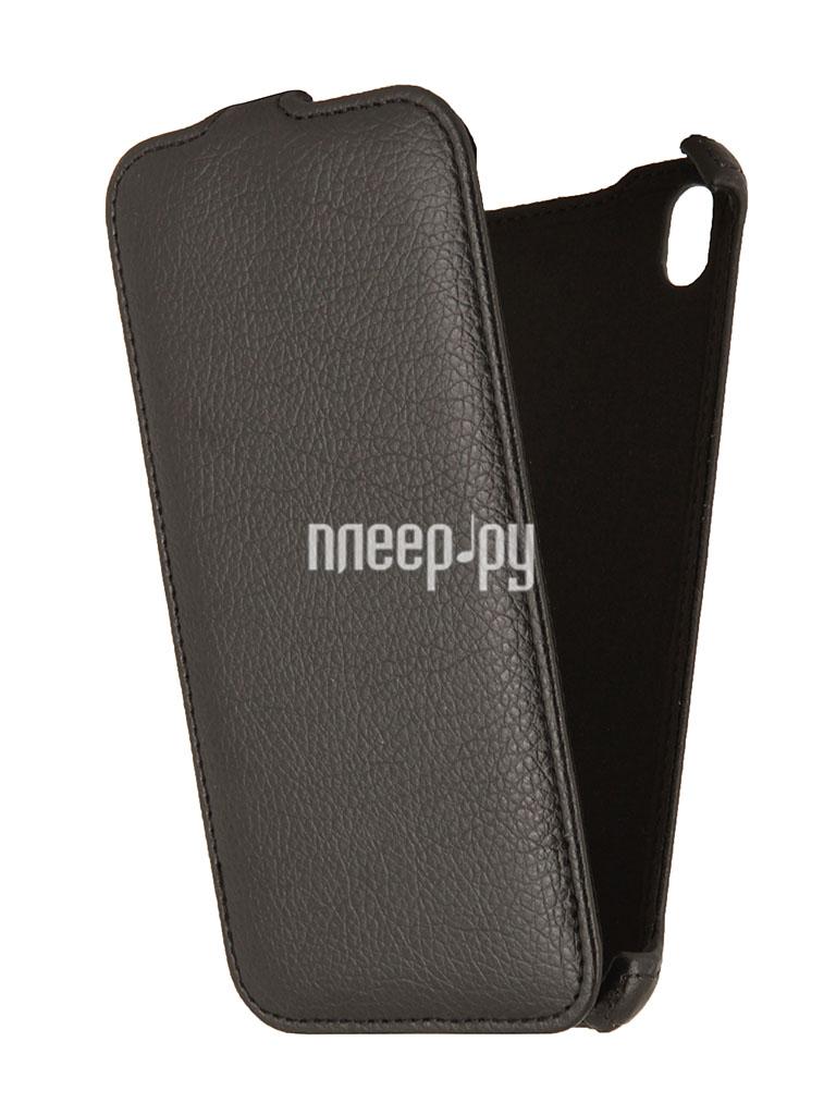 Аксессуар Чехол HTC Desire 800 / 816 EcoStyle Flip Sheel Black ESH-F-HTC800-BL  Pleer.ru  1100.000
