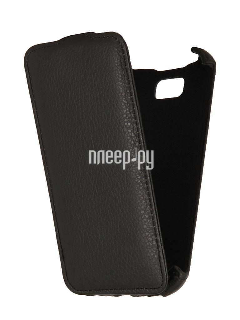 Аксессуар Чехол LG L90 D410 EcoStyle Flip Sheel Black ESH-F-LGL90-BL  Pleer.ru  1100.000