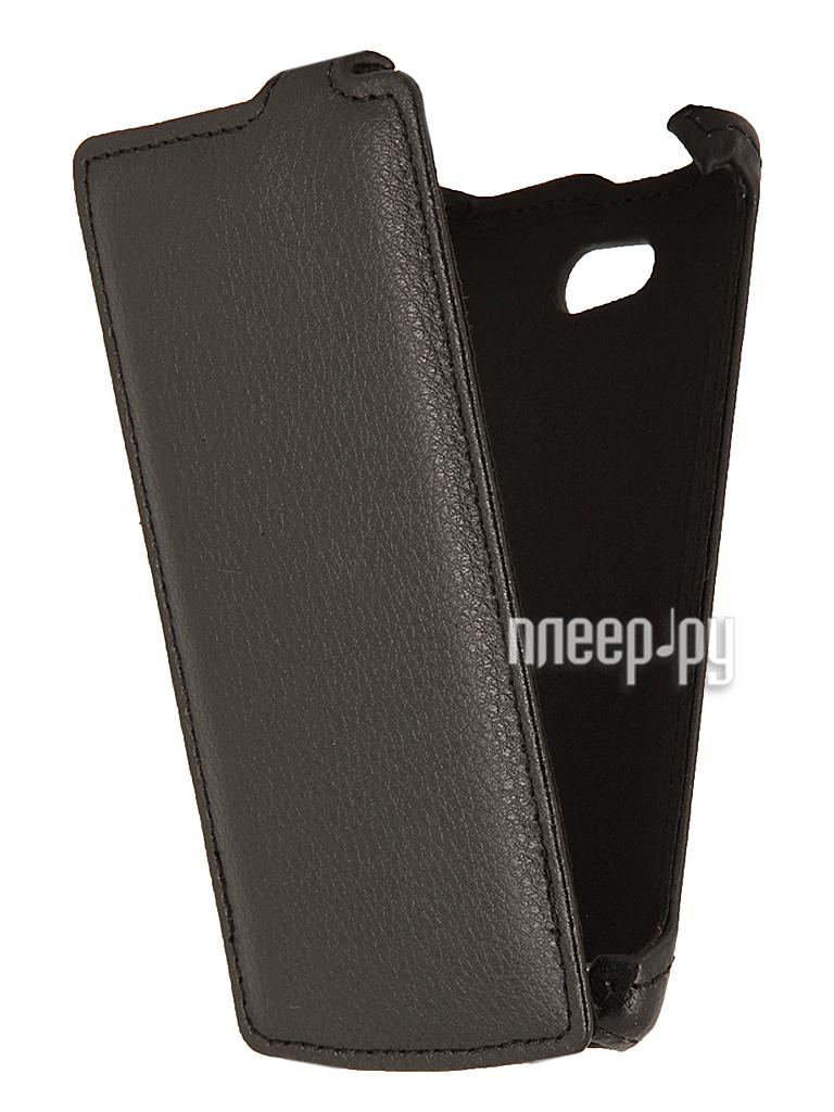 Аксессуар Чехол Philips S308 EcoStyle Flip Sheel Black ESH-F-PHS308-BL  Pleer.ru  1100.000