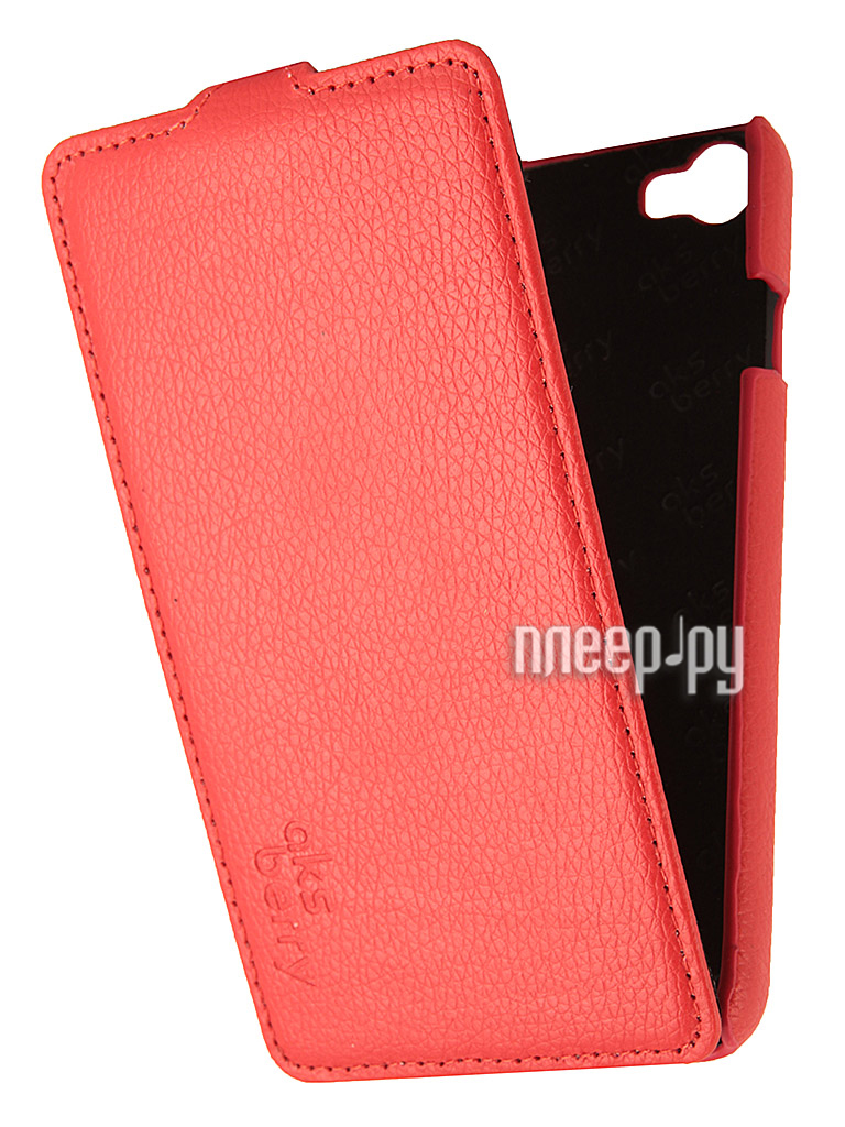 Аксессуар Чехол Explay RIO /Rio Play Aksberry Red  Pleer.ru  1129.000