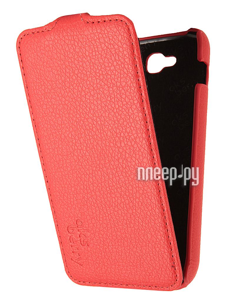 Аксессуар Чехол Fly IQ4406 ERA Nano 6 Aksberry Red  Pleer.ru  1129.000