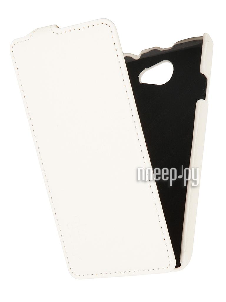 Аксессуар Чехол HTC Desire 516 Aksberry White  Pleer.ru  1129.000