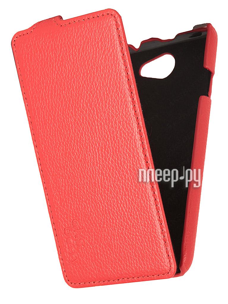 Аксессуар Чехол HTC Desire 516 Aksberry Red  Pleer.ru  1129.000