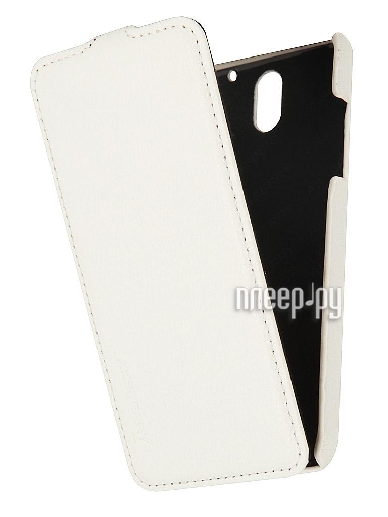 Аксессуар Чехол HTC Desire 610 Aksberry White  Pleer.ru  1129.000