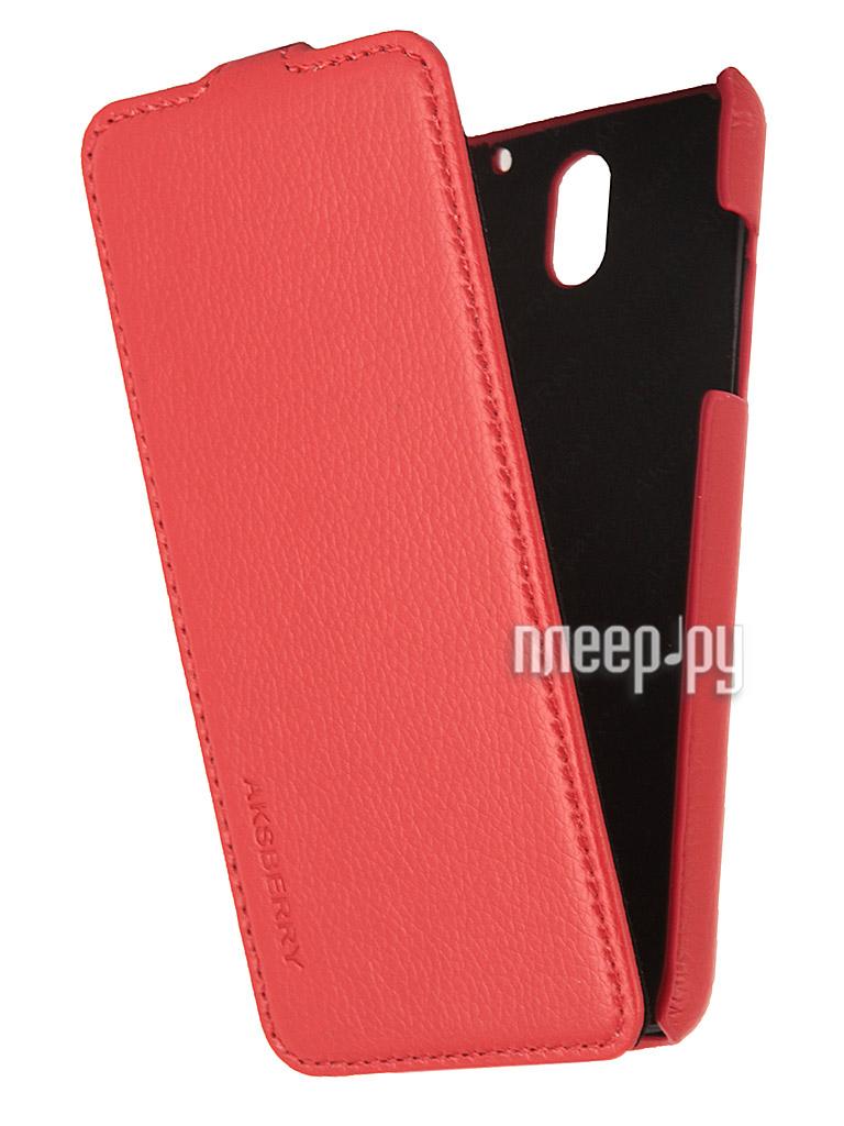 Аксессуар Чехол HTC Desire 610 Aksberry Red  Pleer.ru  1129.000