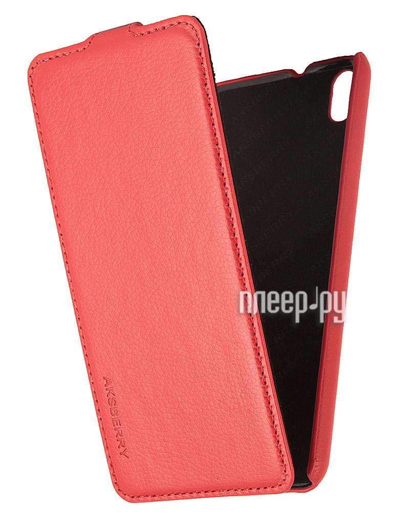 Аксессуар Чехол HTC Desire 816 Aksberry Red  Pleer.ru  1129.000