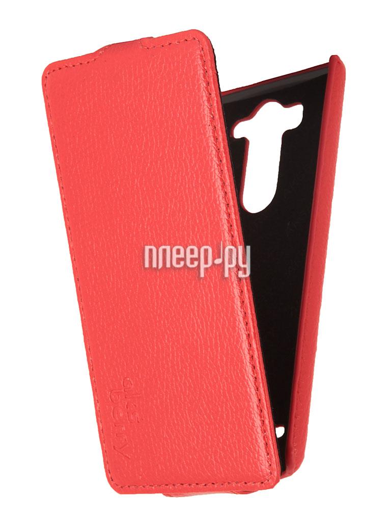 Аксессуар Чехол LG G3 S / mini Aksberry Red  Pleer.ru  1129.000