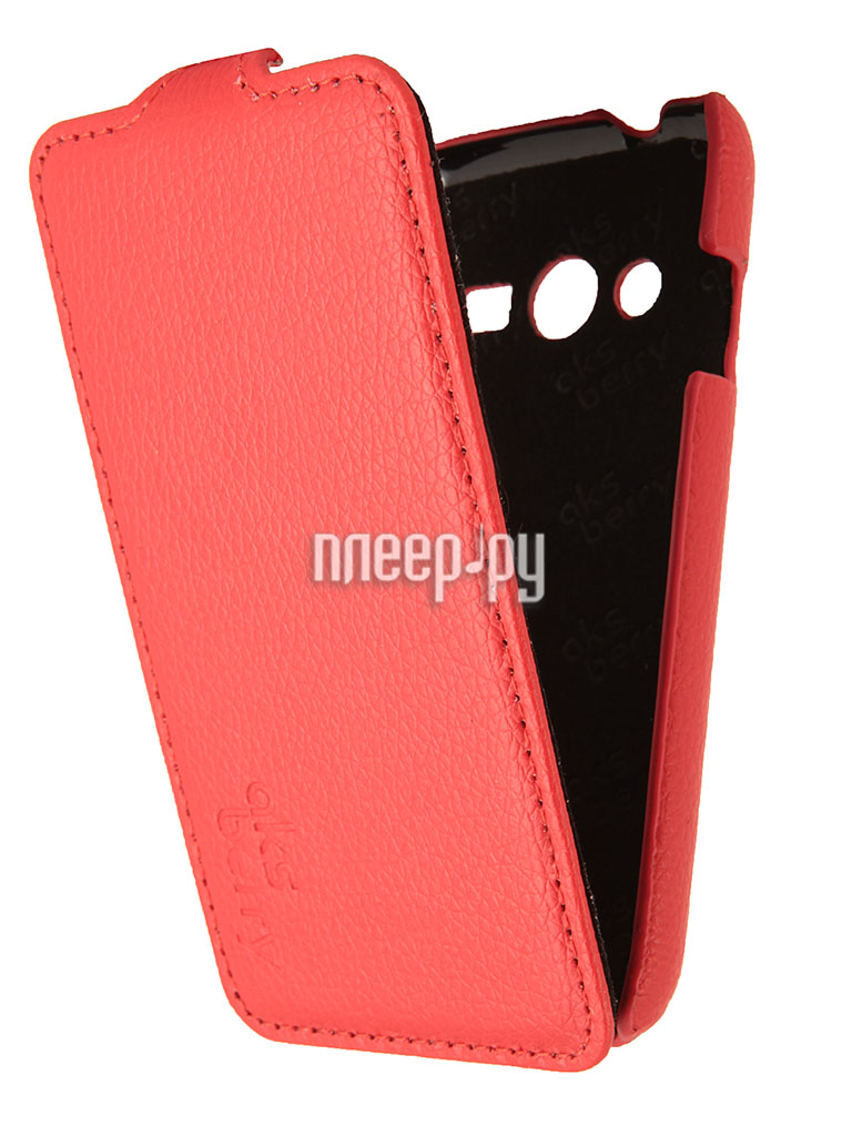 Аксессуар Чехол Samsung Galaxy Ace 4 / Galaxy Ace NXT SM-G313H Aksberry Red  Pleer.ru  1129.000