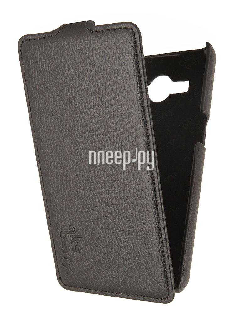 Аксессуар Чехол Samsung SM-G355 Galaxy Core 2 Aksberry Black  Pleer.ru  1129.000