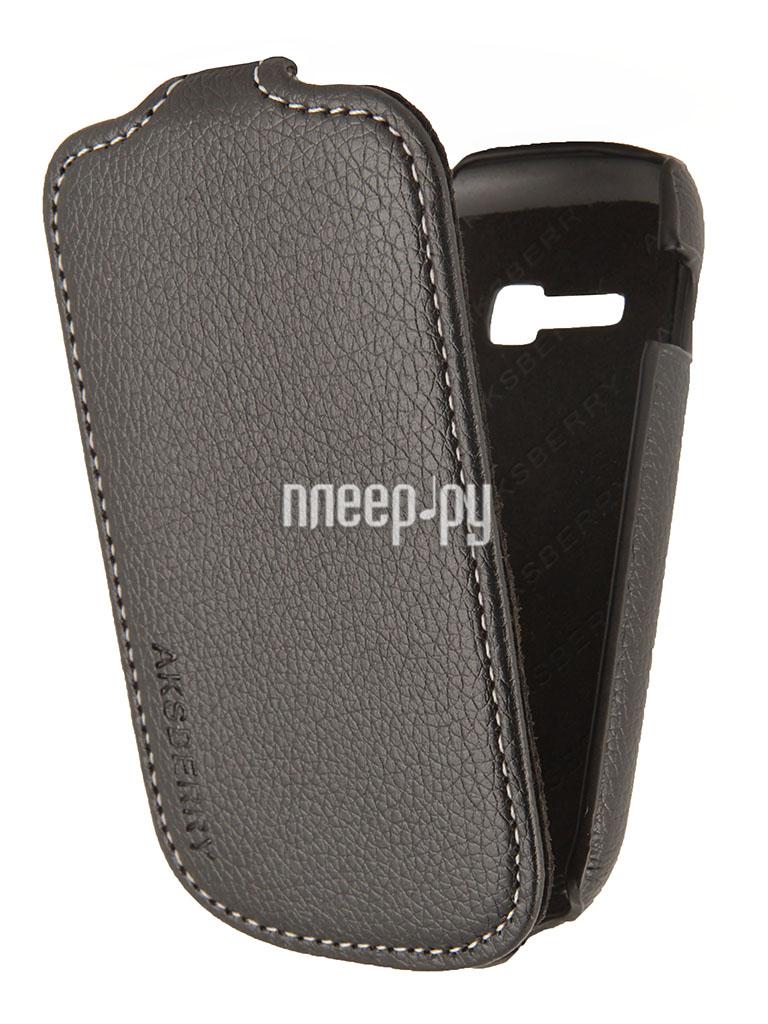 Аксессуар Чехол Samsung Galaxy Fame Lite S6790 Aksberry Black  Pleer.ru  1129.000