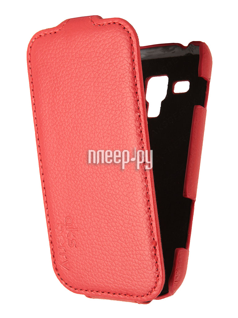 Аксессуар Чехол Samsung Galaxy Trend Plus GT-S7582 Aksberry Red  Pleer.ru  1129.000