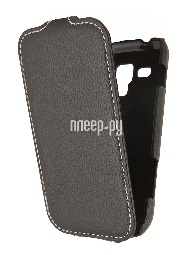 Аксессуар Чехол Samsung Galaxy Trend Plus GT-S7582 Aksberry Black  Pleer.ru  1129.000