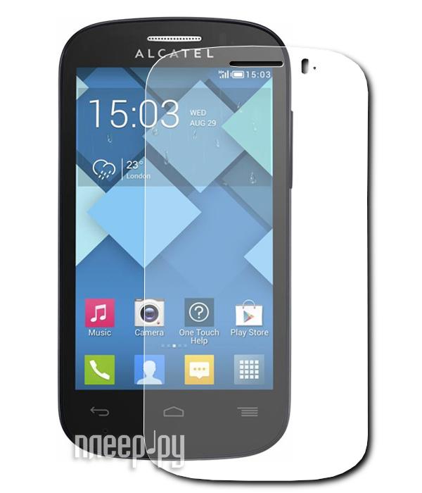 Аксессуар Защитная пленка Alcatel OneTouch Pop C3 Aksberry прозрачная  Pleer.ru  534.000