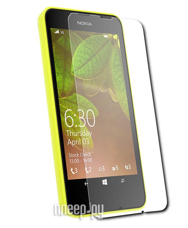 Аксессуар Защитная пленка Nokia Lumia 630 Aksberry прозрачная  Pleer.ru  534.000