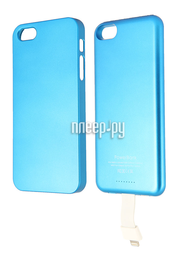 Аккумулятор Aksberry T5 for iPhone 5 2800 mA Blue  Pleer.ru  1299.000