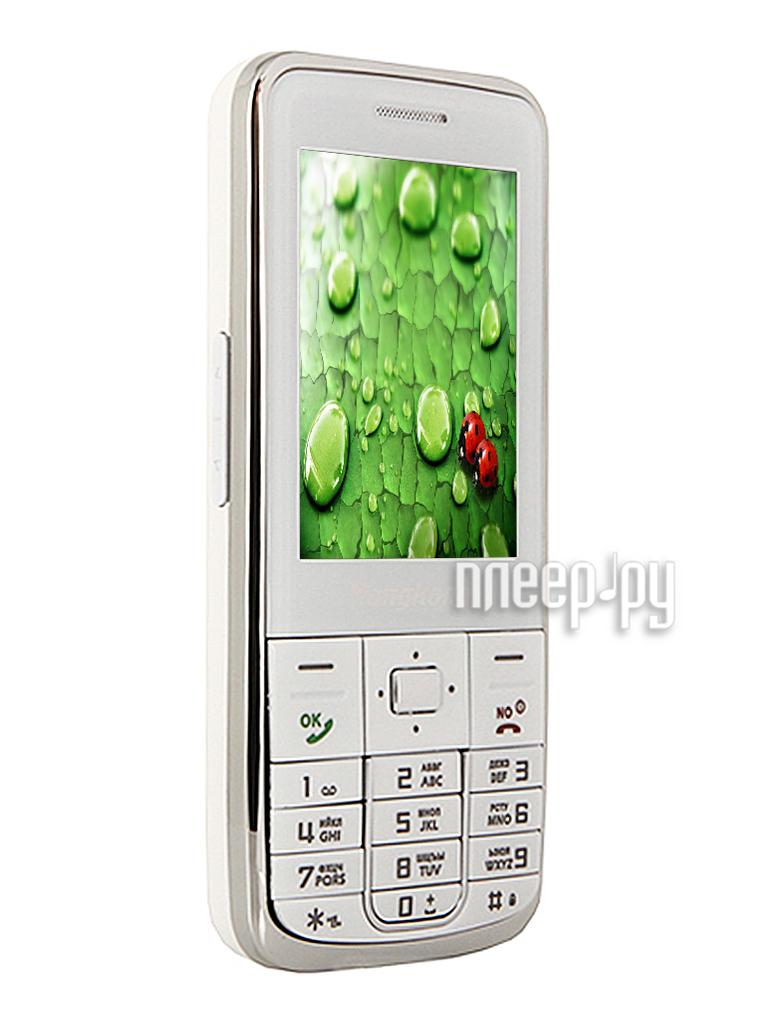 Сотовый телефон HongKang HK ETS-2055M White  Pleer.ru  2710.000