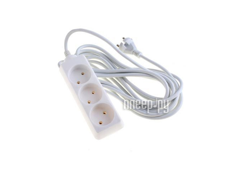 Сетевой фильтр TDM-Electric У3 SQ1303-0202 3 Sockets 5m  Pleer.ru  215.000