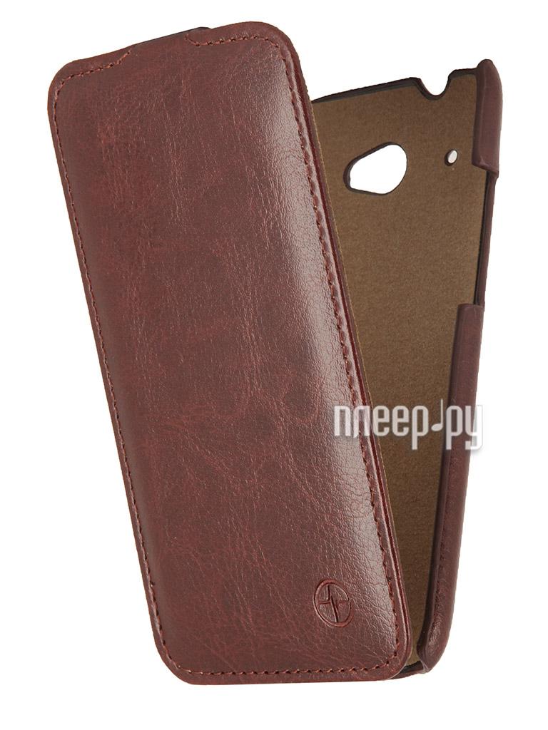 Аксессуар Чехол HTC Desire 601 Pulsar Shellcase Brown PSC0018  Pleer.ru  1121.000