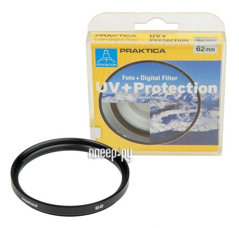 Светофильтр Praktica UV-Protect 72mm (29151)