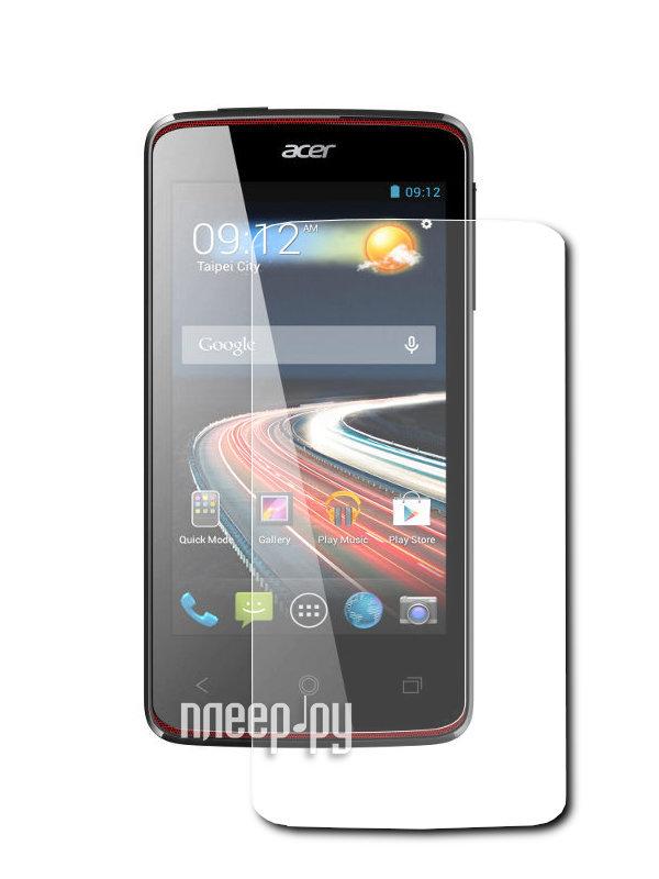 Аксессуар Защитная пленка Acer Liquid Z4 Z160 LuxCase антибликовая 52604  Pleer.ru  579.000