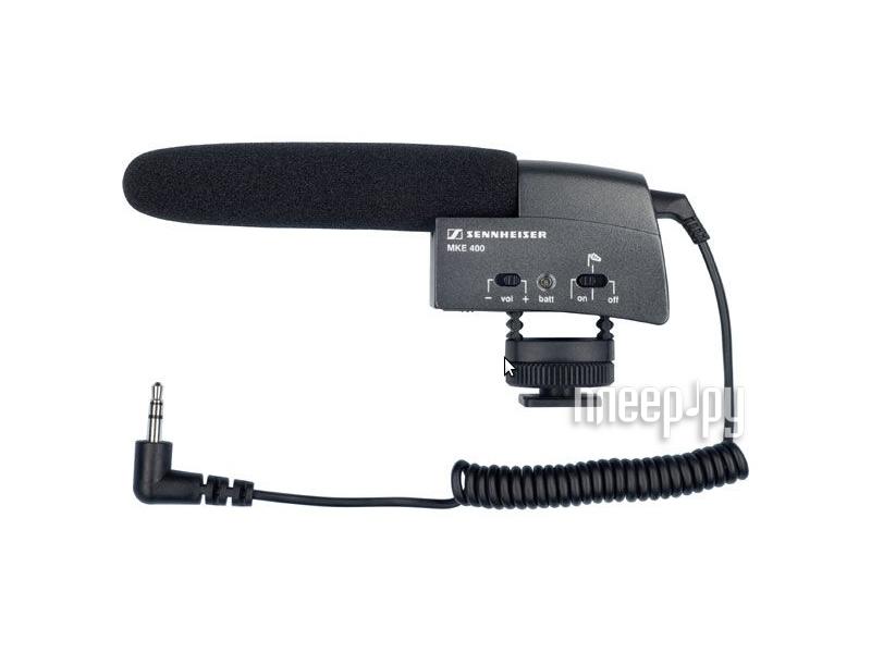 Микрофон Sennheiser MKE 400 502047  Pleer.ru  7459.000