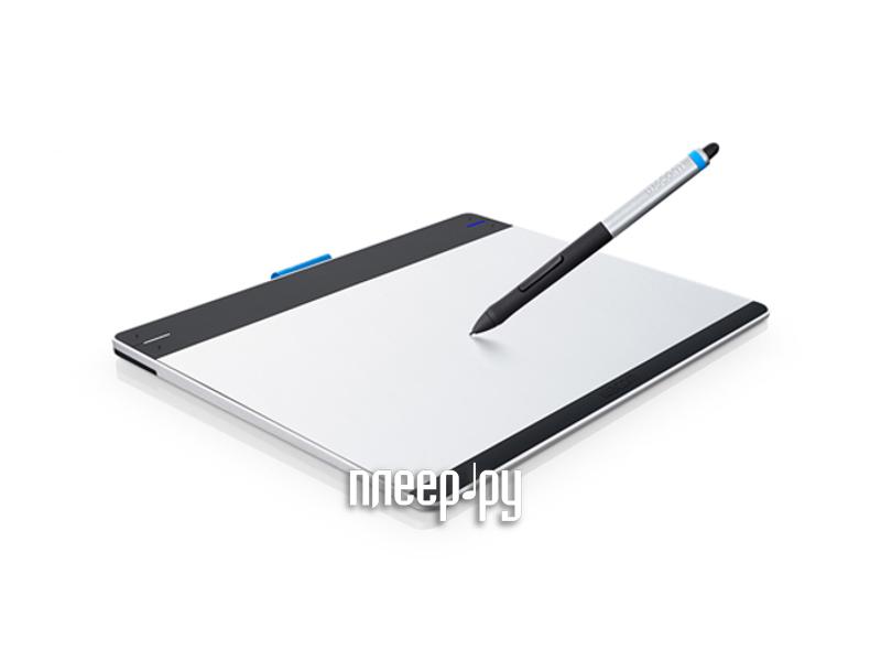 Графический планшет Wacom Intuos Pen & Touch Medium RU/PL/EN/FR/NL CTH-680S-N  Pleer.ru  9440.000
