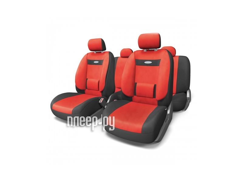 Чехол Autoprofi Comfort Black-Red COM-1105 BK/RD M  Pleer.ru  1817.000
