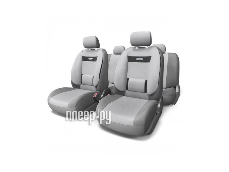Чехол Autoprofi Comfort Dark Grey-Light Grey COM-1105 D.GY/L.GY M  Pleer.ru  1817.000