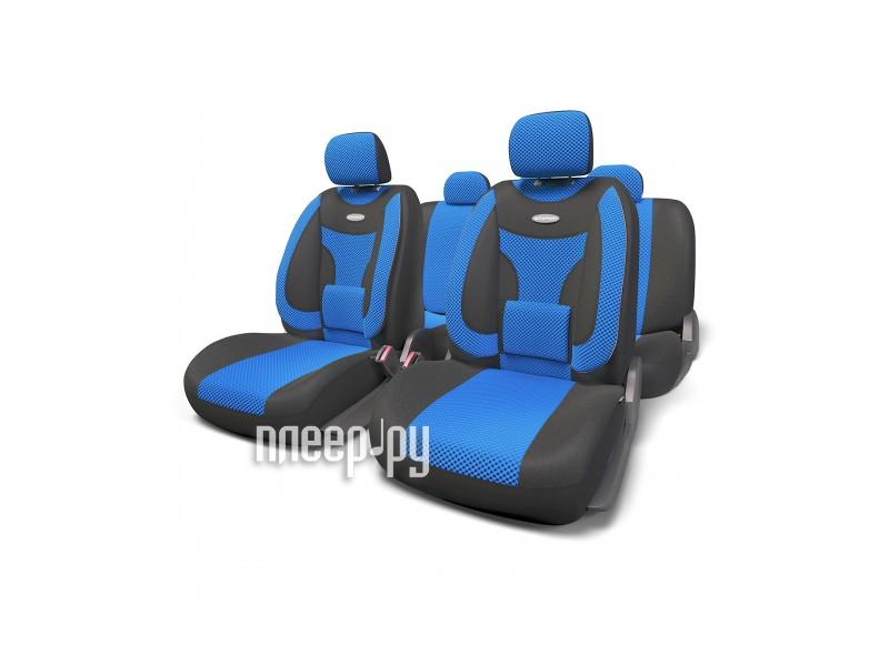 Чехол Autoprofi Extra Comfort Black-Blue ECO-1105 BK/BL M  Pleer.ru  2199.000