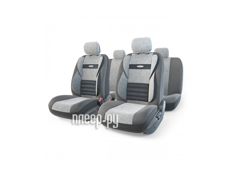 Чехол Autoprofi Comfort Combo Dark/Light Grey CMB-1105 D.GY/L.GY M  Pleer.ru  2013.000