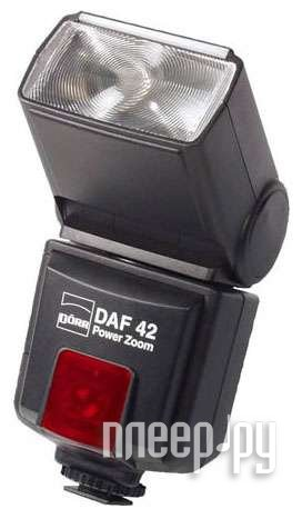 Вспышка Doerr D-AF-42 P Power Zoom Flash Pentax (D371104)  Pleer.ru  2198.000