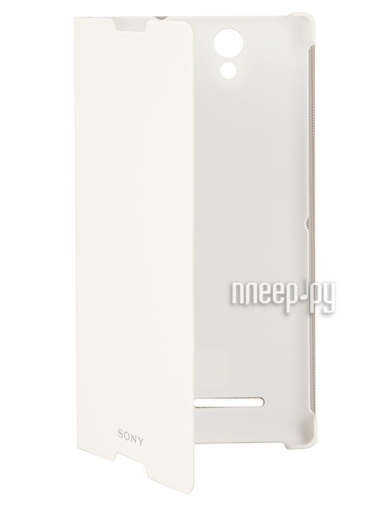 Аксессуар Чехол Sony Xperia C3 SCR15 White  Pleer.ru  1585.000