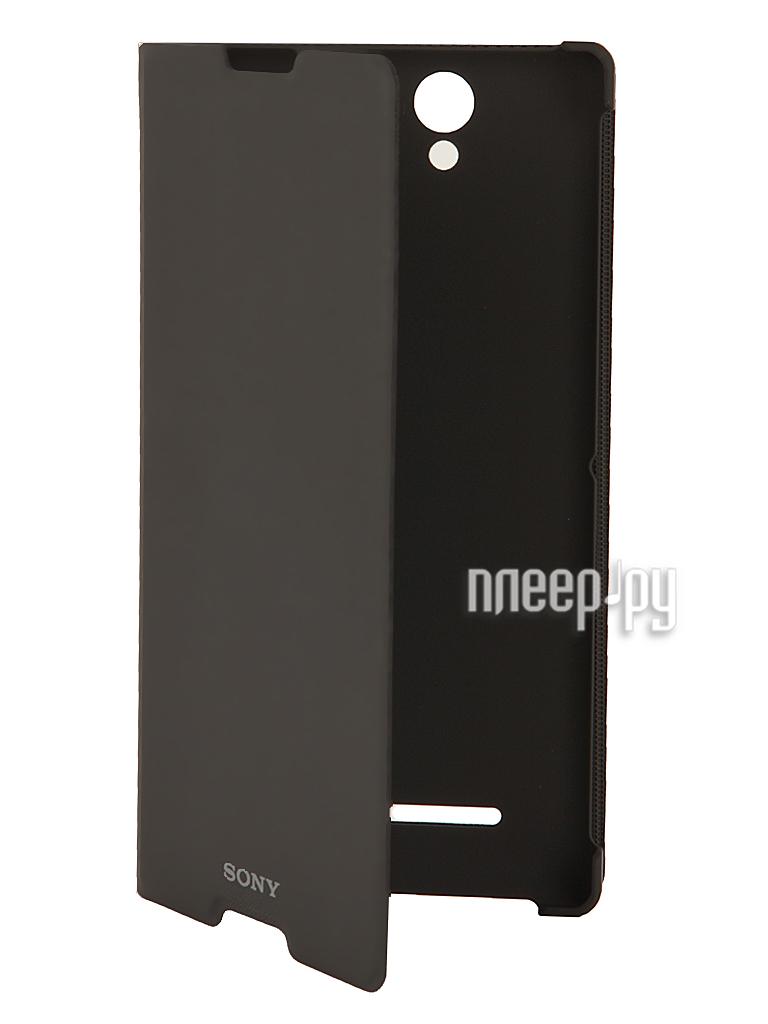Аксессуар Чехол Sony Xperia C3 SCR15 Black  Pleer.ru  1585.000