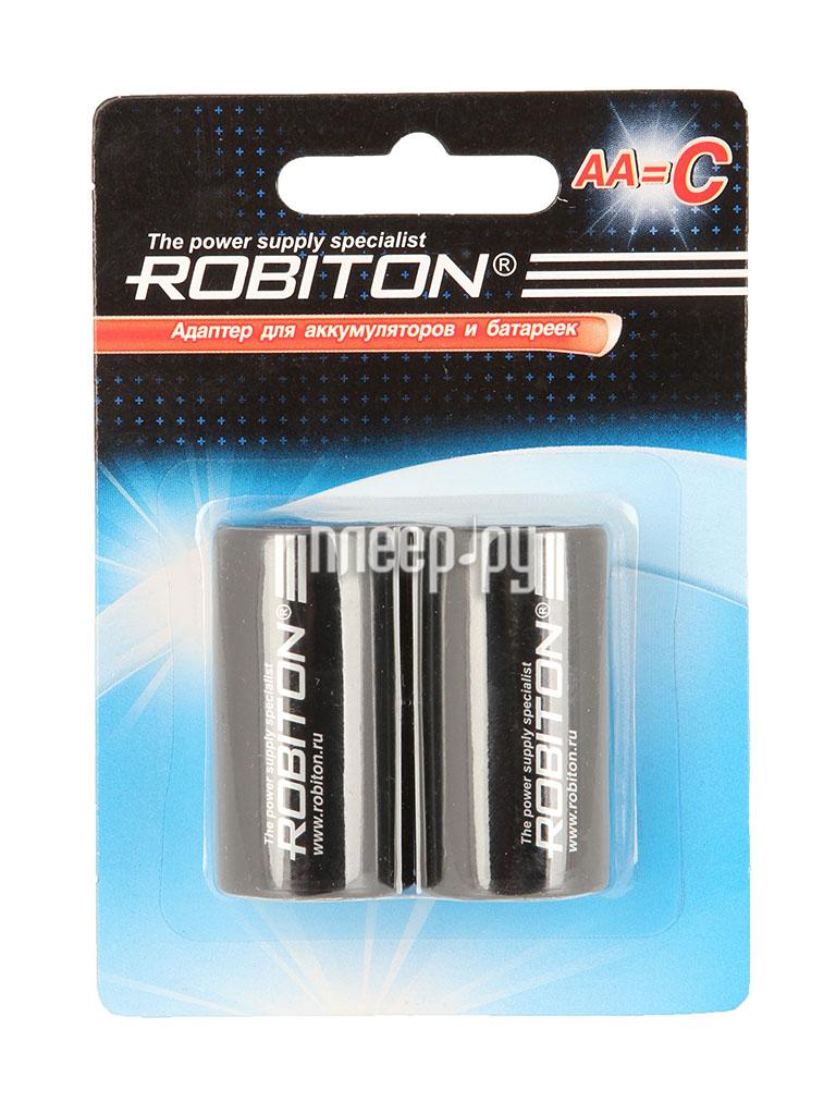 Аксессуар Robiton Adaptor-AA-C BL2 (2 штуки) - адаптер C  Pleer.ru  238.000