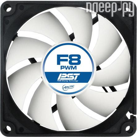 Вентилятор Arctic Cooling F8 PWM PST AFACO-080P0-GBA01 80mm  Pleer.ru  178.000