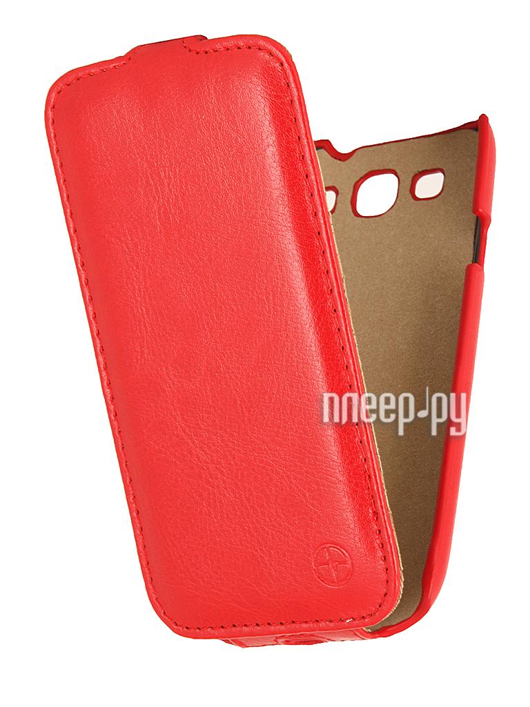 Аксессуар Чехол Samsung GT-i9300 Galaxy S III Pulsar Shellcase Red PSC0104  Pleer.ru  1121.000