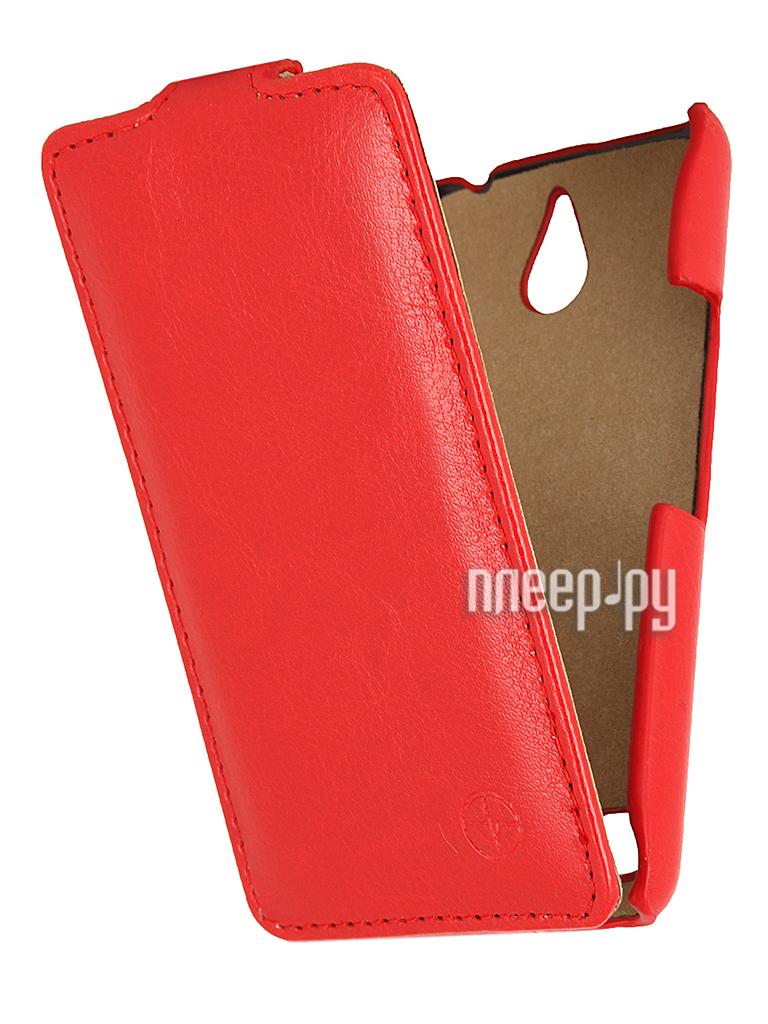 Аксессуар Чехол Sony Xperia E1 Dual Pulsar Shellcase Red PSC0201  Pleer.ru  1121.000