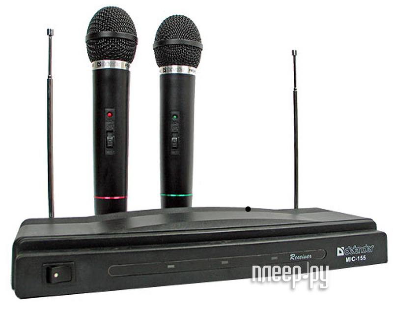 Радиомикрофон Defender MIC-155 64155  Pleer.ru  700.000