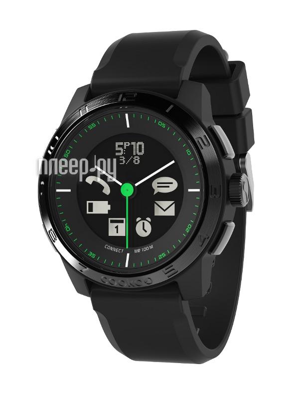 Умные часы Cookoo Watch Sporty Chic Version 2 CK2.0-001-01 Black-Black  Pleer.ru  6101.000