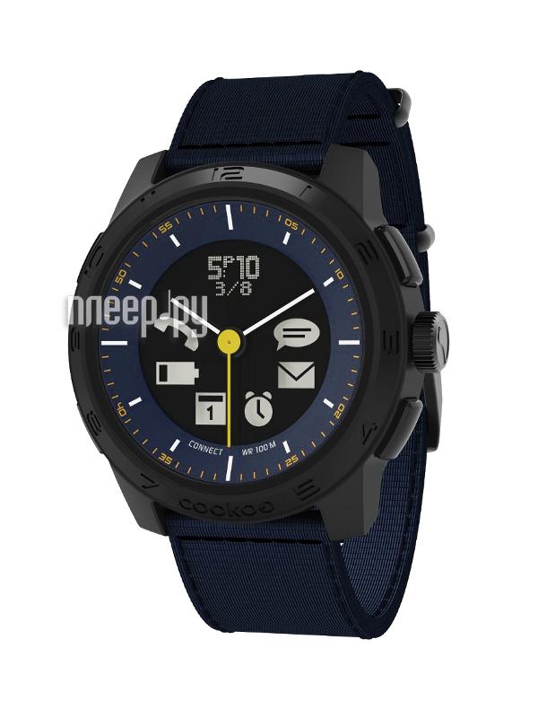 Умные часы Cookoo Watch Urban Explorer Version 2 CK2.0-006-01 Blue  Pleer.ru  6061.000