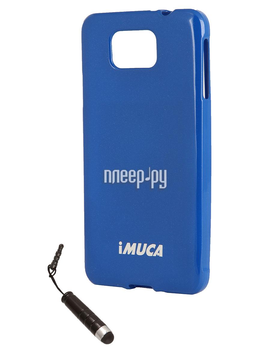 Аксессуар Чехол Imuca + защитная пленка и стилус for Samsung SM-G850 Galaxy Alpha  Pleer.ru  720.000