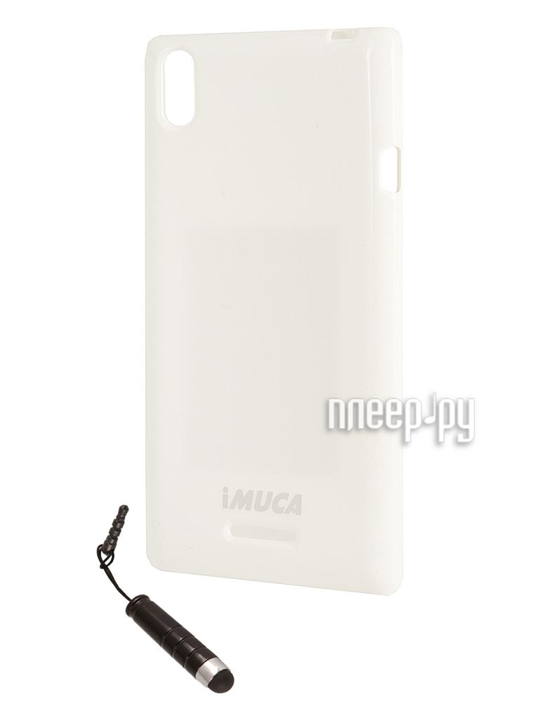 Аксессуар Чехол Imuca + защитная пленка и стилус for Sony Xperia T3  Pleer.ru  720.000