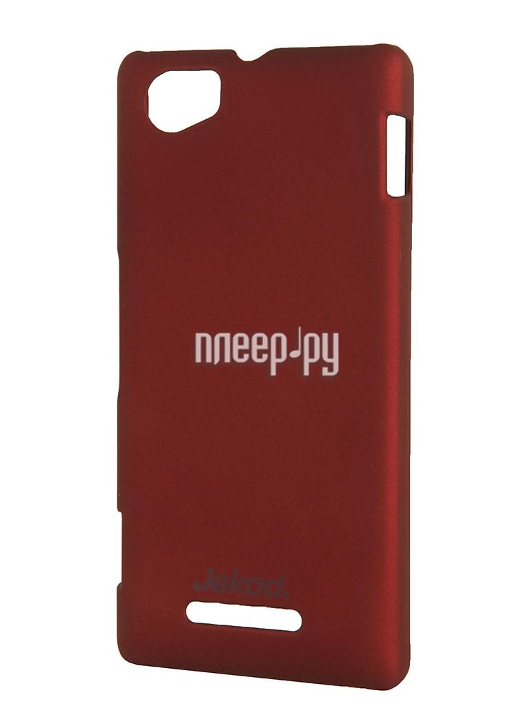 Аксессуар Накладка Jekod на заднюю крышку for Sony Xperia M / M Dual  Pleer.ru  700.000