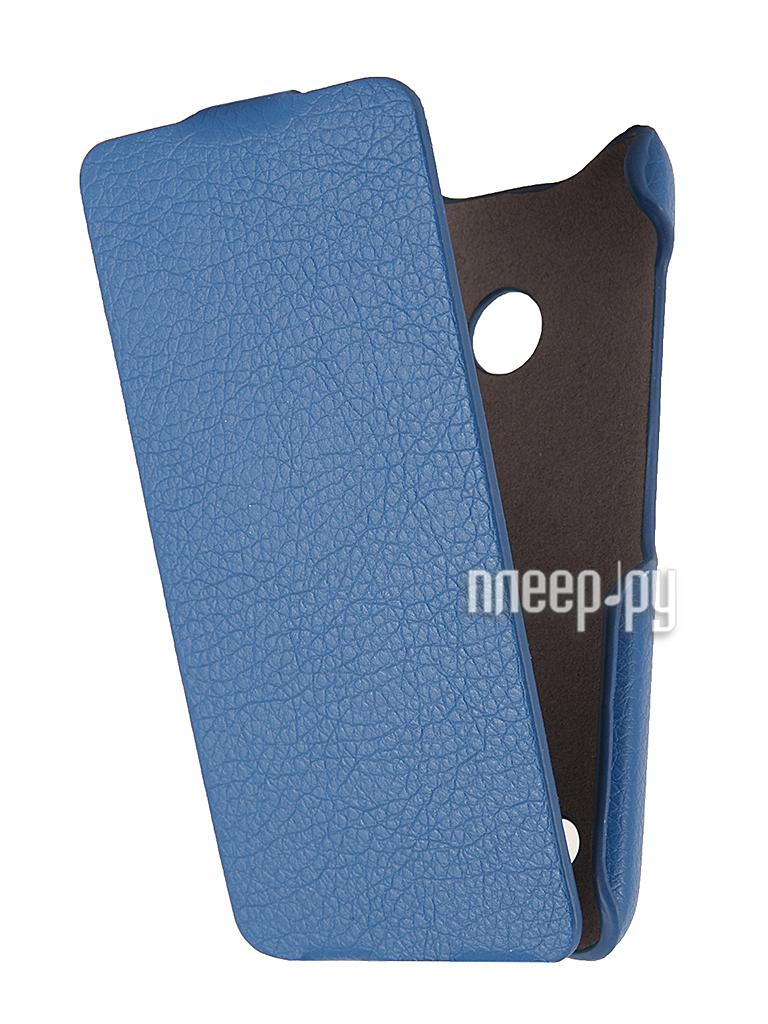 Аксессуар Чехол Nokia Lumia 530 iBox Premium Blue  Pleer.ru  1109.000