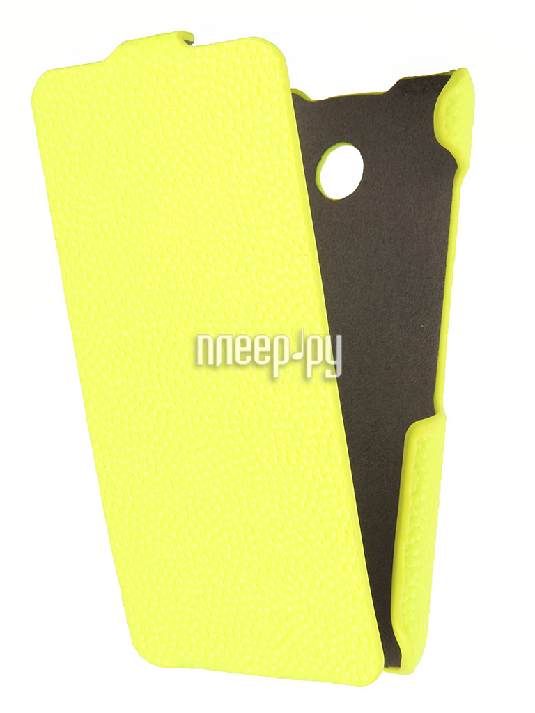 Аксессуар Чехол Nokia Lumia 630 / 635 iBox Premium Yellow  Pleer.ru  1109.000