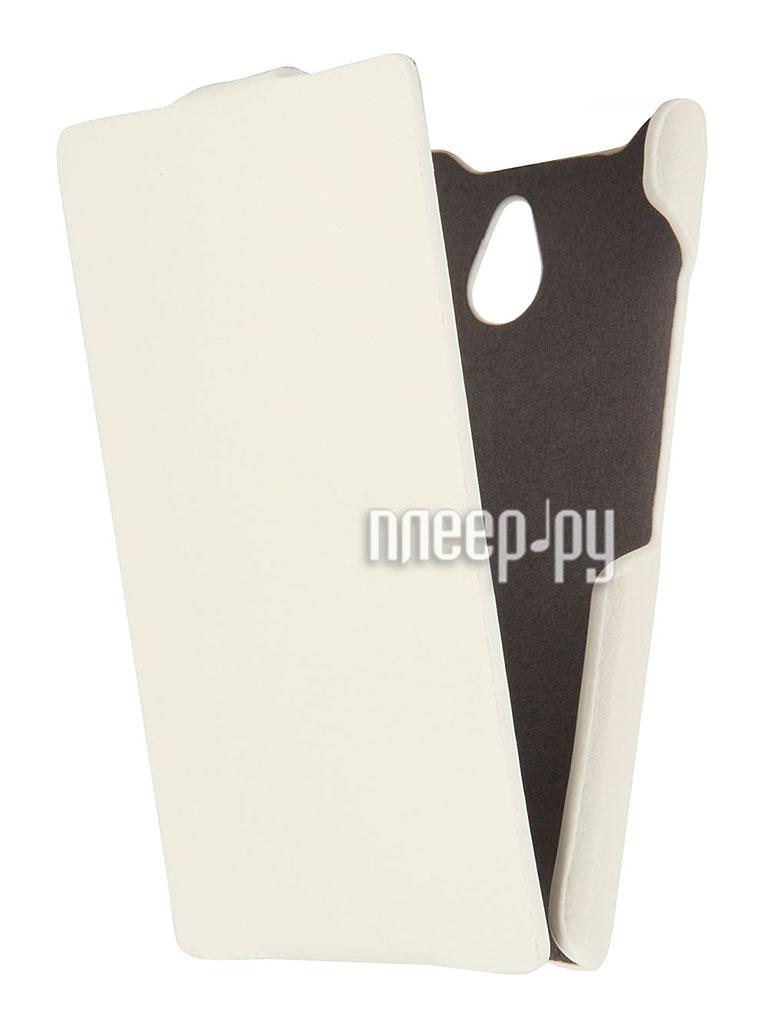 Аксессуар Чехол Nokia X2 / X2 Dual iBox Premium White  Pleer.ru  1109.000