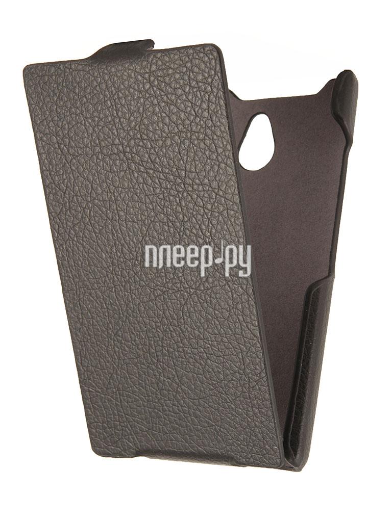 Аксессуар Чехол Nokia X2 / X2 Dual iBox Premium Black  Pleer.ru  1109.000