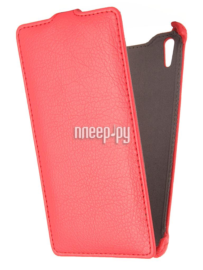 Аксессуар Чехол Sony Xperia T3 iBox Premium Red  Pleer.ru  1109.000