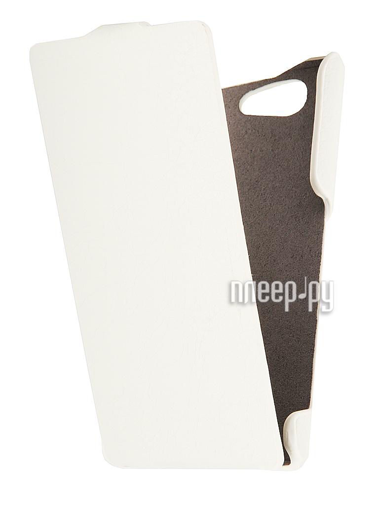 Аксессуар Чехол Sony Xperia Z3 Compact iBox Premium White  Pleer.ru  1109.000